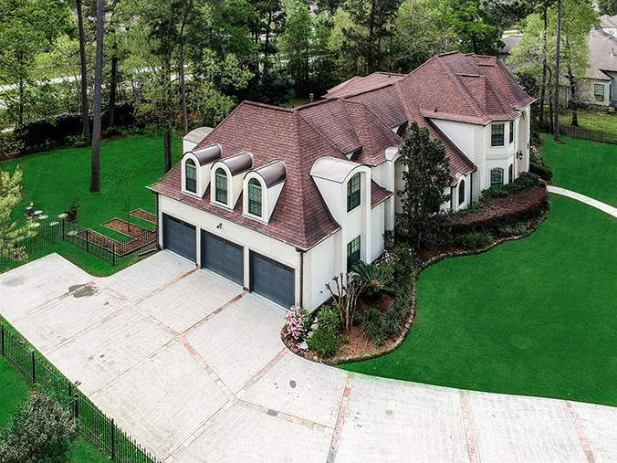high quality Greensboro, NC aerial / drone photography
